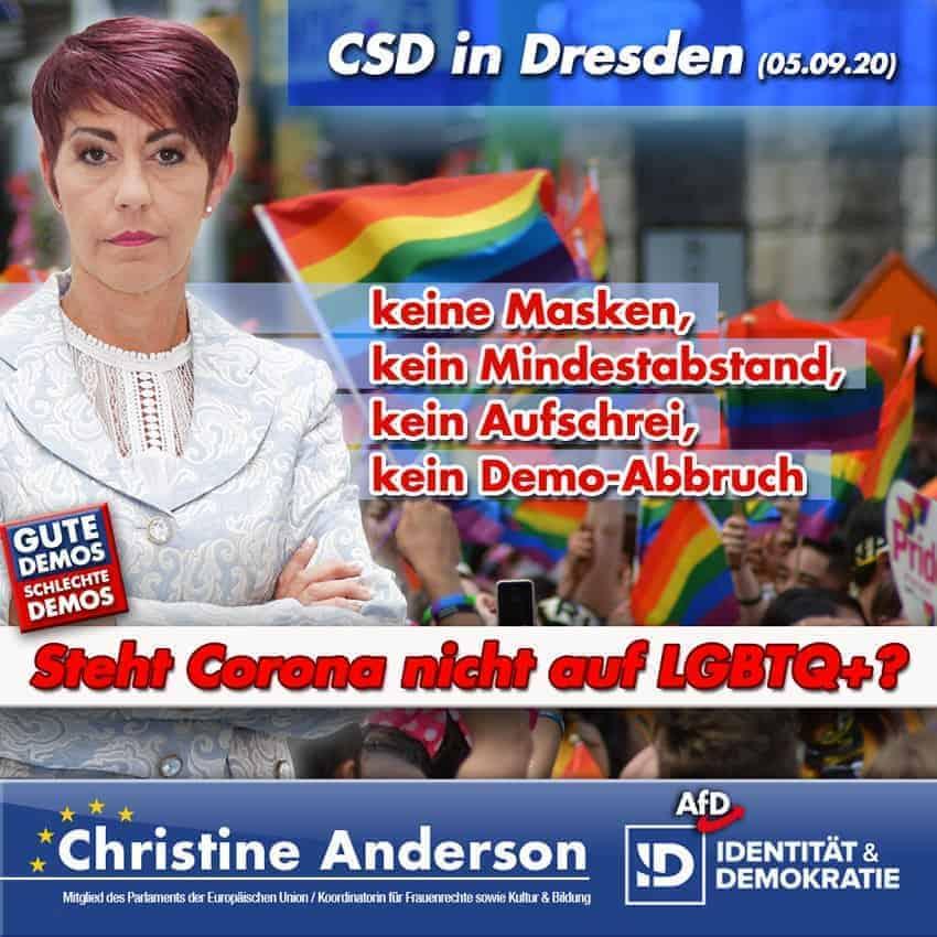 Steht Corona nicht auf LGBTQ+