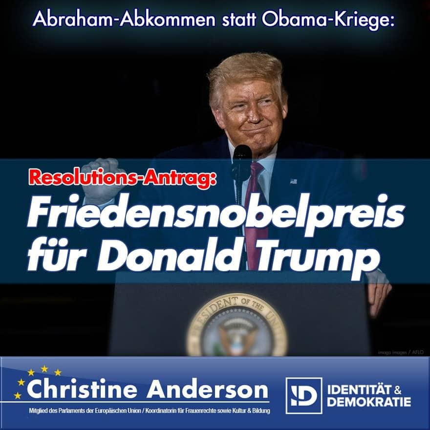 Trump-Friedensnobelpreis