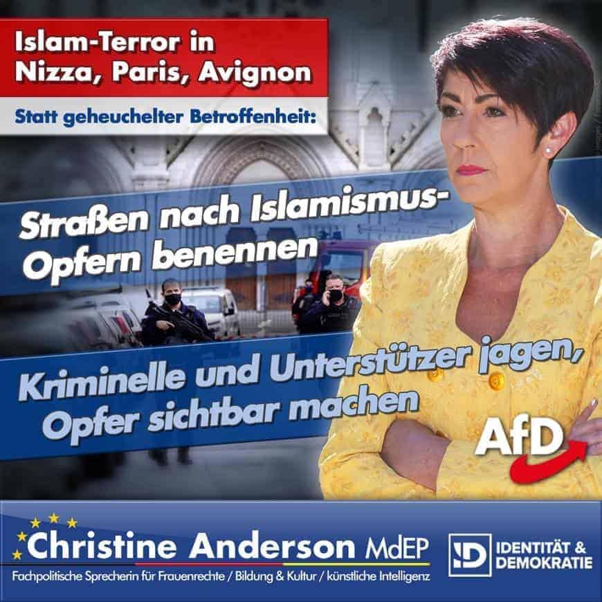 Islam-Terror in Nizza, Paris und Avignon